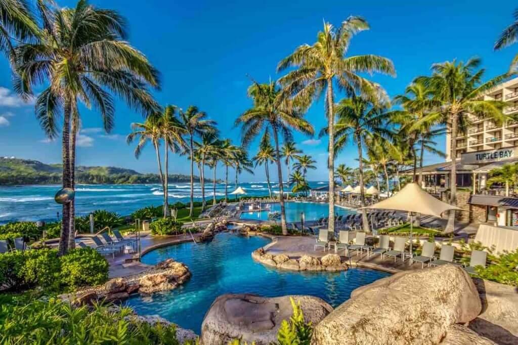 Turtle Bay Resort in North Shore Oahu