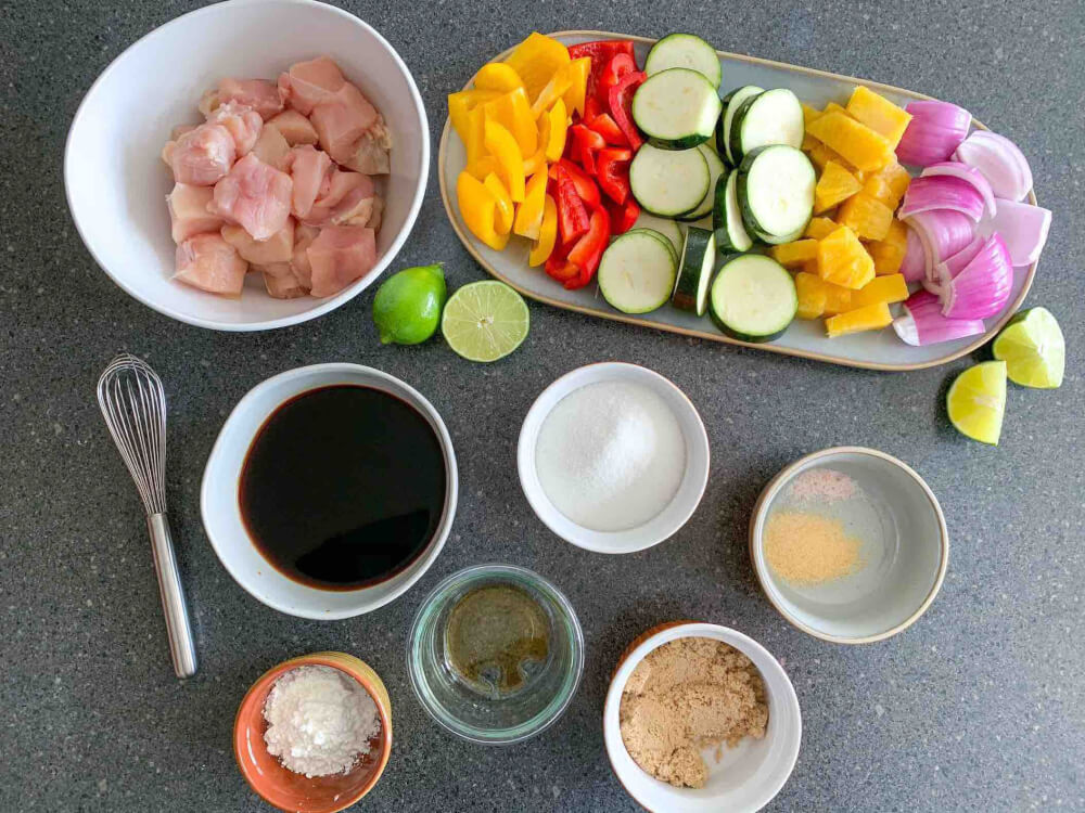 Hawaiian Pineapple Chicken Skewers Recipe by Top Hawai Blog Hawaii Travel with Kids