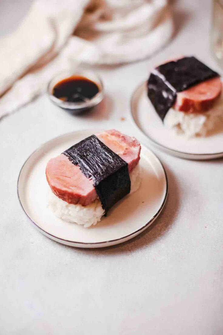 Hawaiian Spam Musubi Recipe Without Mold Hawaii Travel With Kids