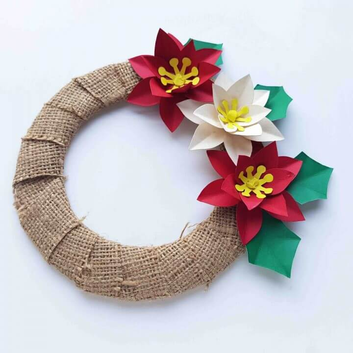 How To Make A Poinsettia Wreath Holidays Hawaii Travel With Kids