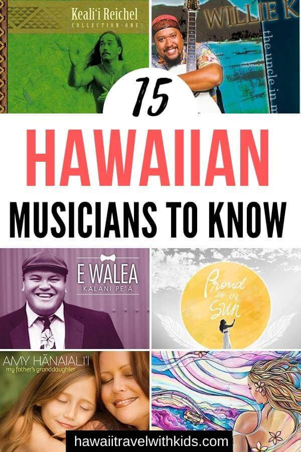 Best Hawaiian musical artists to listen to on Spotify and AmazonPrime, featured by top Hawaii blog, Hawaii Travel with Kids