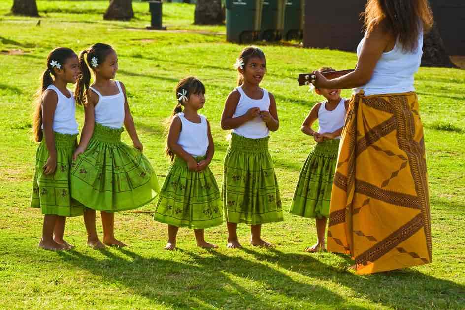 101 Best Things to Do on Kauai with Kids featured by top Hawaii blog, Hawaii Travel with Kids: Take your kids to a free hula show on Kauai