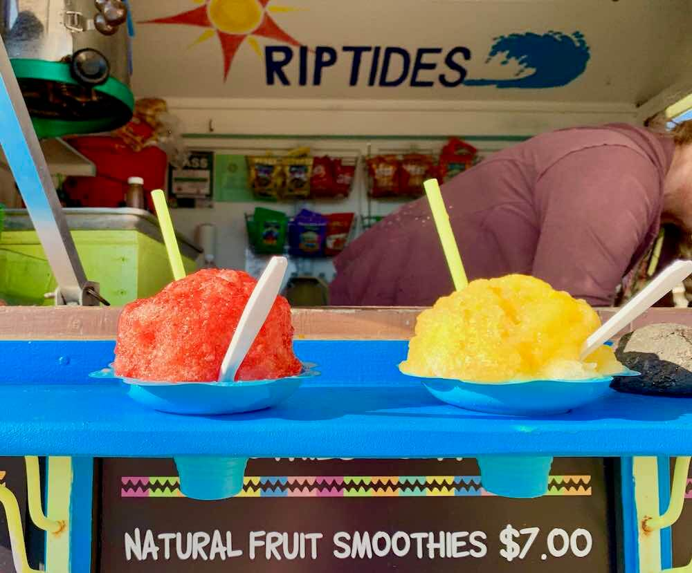 101 Best Things to Do on Kauai with Kids featured by top Hawaii blog, Hawaii Travel with Kids: RipTides Shave Ice on Kauai
