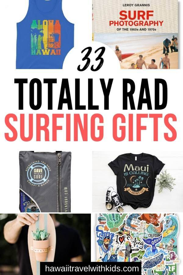 Hawaii Surfing Gifts featured by top Hawaii blog, Hawaii Travel with Kids