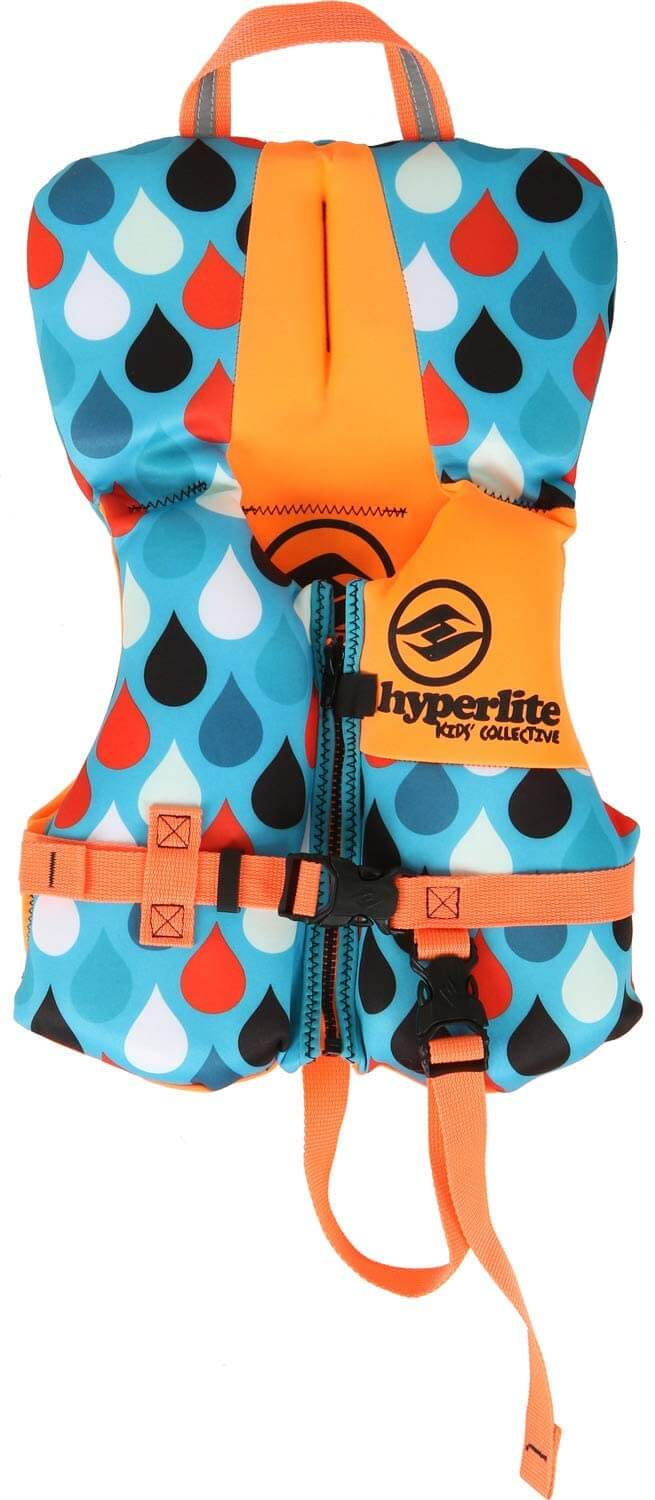 The Best Life Jackets For Toddlers & Preschoolers featured by top Hawaii blog, Hawaii Travel with Kids: Hyperlite