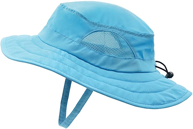 Top 10 Best Kids Sun Hats for Hawaii featured by top Hawaii blogger, Hawaii Travel with Kids: Connectyle Kids UPF 50+ Bucket Sun Hat UV Sun Protection Hats Summer Play Hat