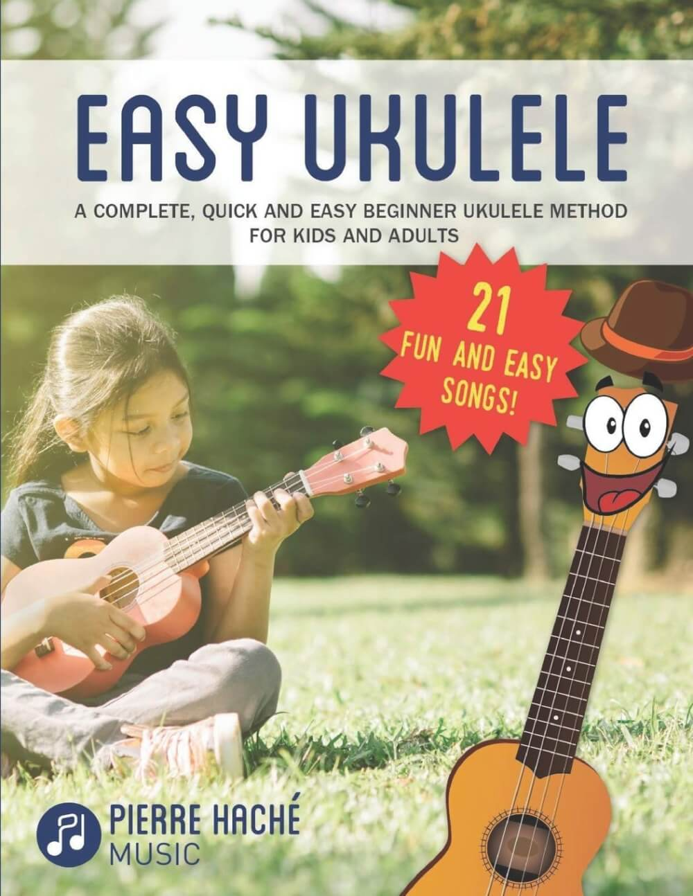 Find out the best kids ukulele book to buy in this ukulele guide by top Hawaii blog Hawaii Travel with Kids. Image of Easy Ukulee