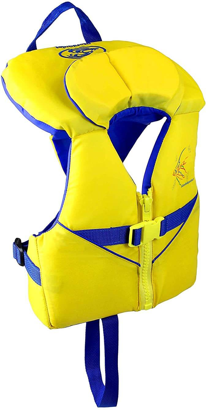 The Best Life Jackets For Toddlers & Preschoolers featured by top Hawaii blog, Hawaii Travel with Kids: stohlquist jacket