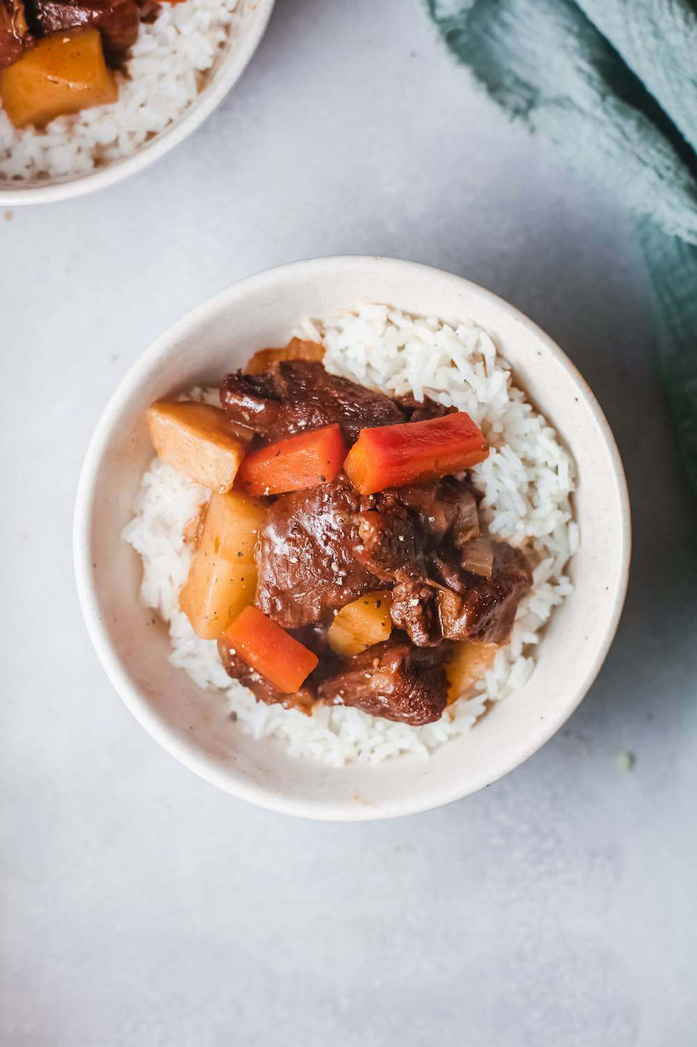 Hawaiian Beef Stew Recipe featured by top Hawaii blog, Hawaii Travel with Kids