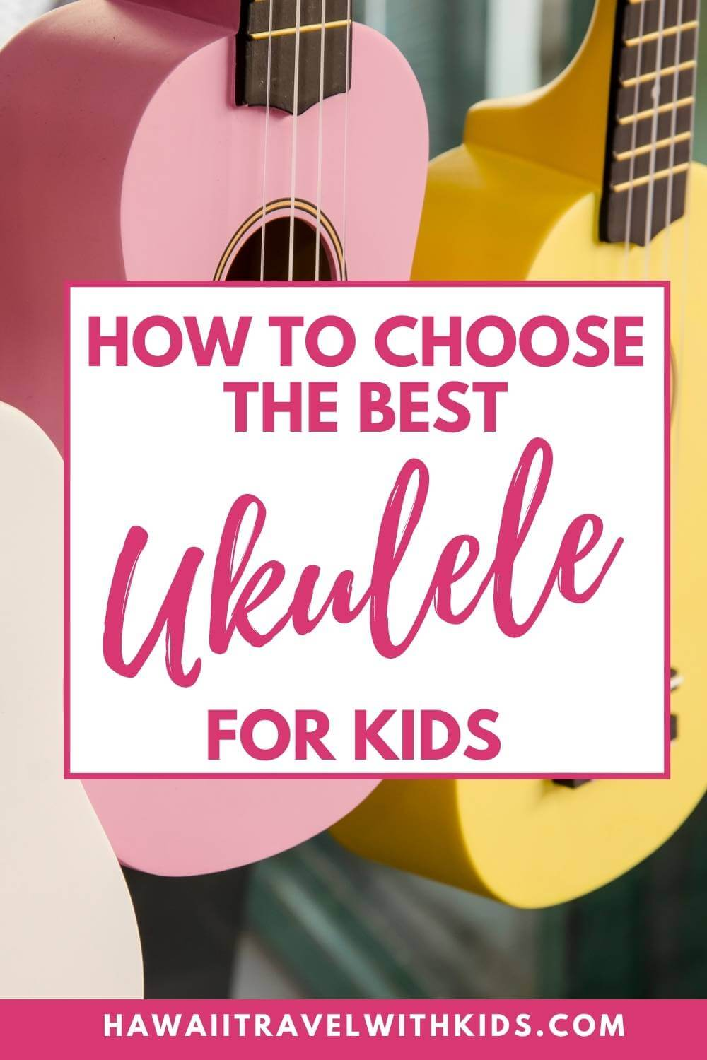 Are you looking for a ukulele for your toddler, preschooler or elementary student? Find out the best kids ukulele to choose, plus ukulele accessories, where to find online ukulele lessons, and fun ukulele songs for kids by top Hawaii blog Hawaii Travel with Kids