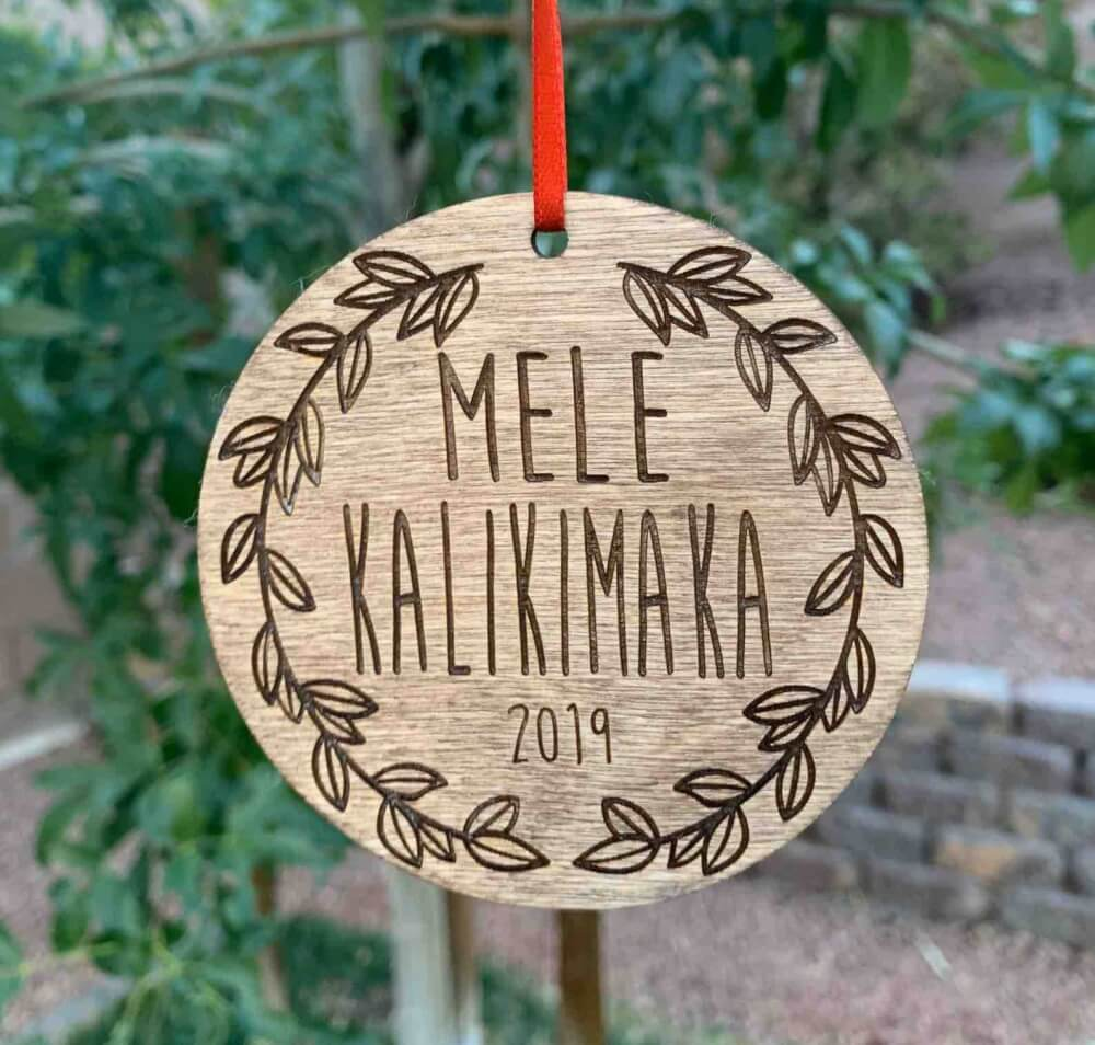 20 Hawaiian Christmas Ornaments featured by top Hawaii blogger, Hawaii Travel with Kids