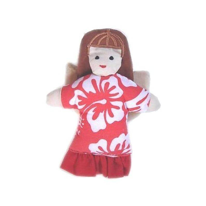 20 Hawaiian Christmas Ornaments featured by top Hawaii blogger, Hawaii Travel with Kids: Hawaiian Angel Handmade Christmas Ornament from Hawaii from image 0