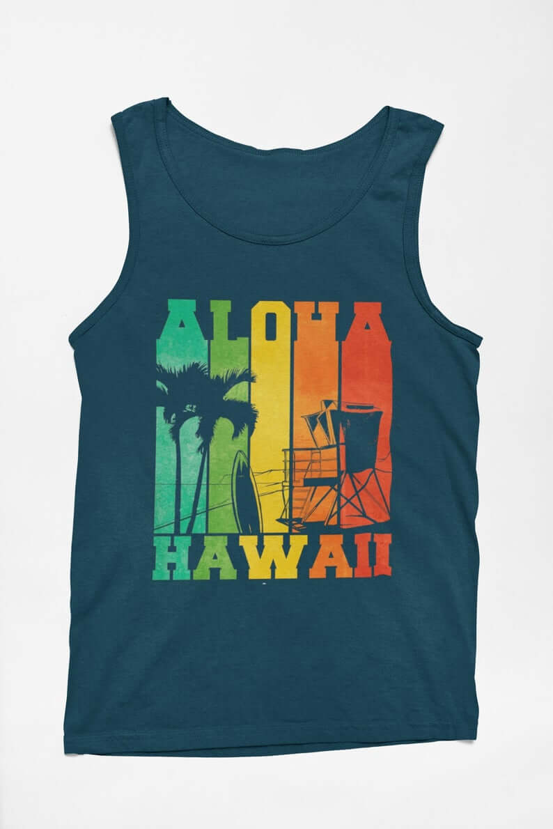 Hawaii Surfing Gifts featured by top Hawaii blog, Hawaii Travel with Kids: Retro Vintage Looking Aloha Hawaii /Surfer / Ocean Lover / image 9