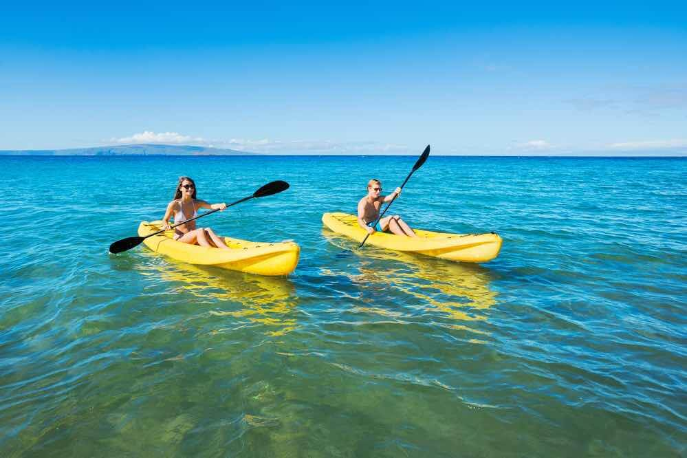 Best Places for Kayaking in Hawaii featured by top Hawaii blogger, Hawaii Travel with Kids
