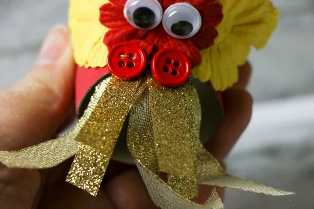 These are the golden flames for your Chinese dragon puppet craft. Image of a Chinese paper dragon.