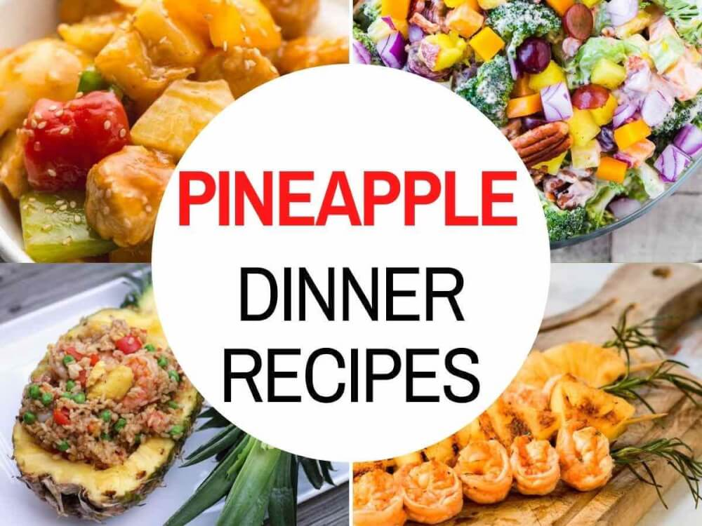 Discover the best savory pineapple recipes to make for dinner compiled by top Hawaii blog Hawaii Travel with Kids