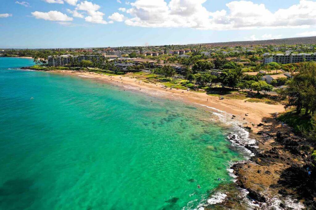 Kamaole Beach is a kid friendly Maui beach in Kihei.