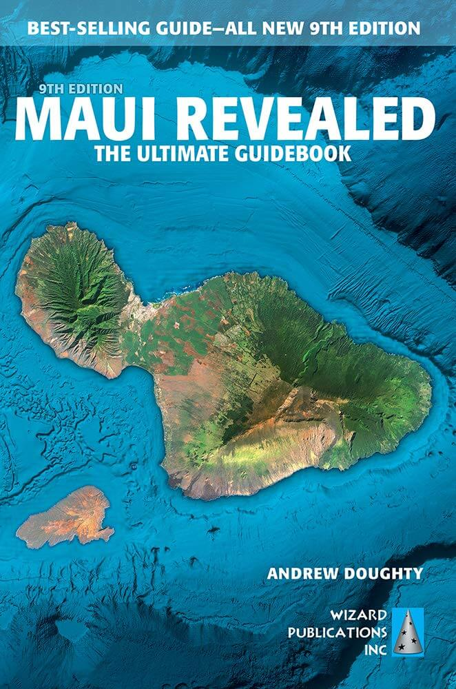 Do you need a Hawaii guidebook? Image of the Maui Revealed guidebook.