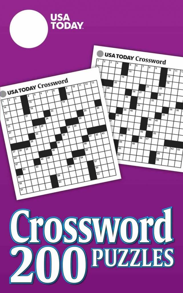 Don't forget to add some screen free entertainment on your packing list for Hawaii. Image of a USA Today crossword puzzle book.