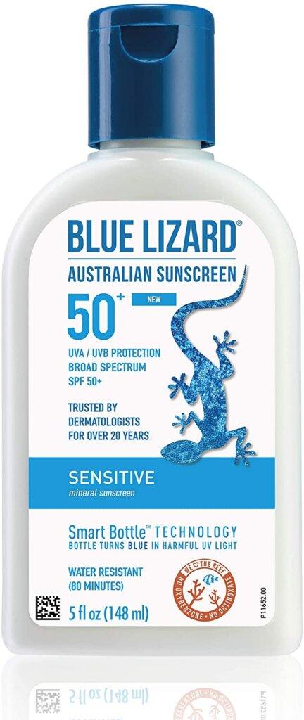 Blue Lizard is a reef safe sunscreen for Hawaii.