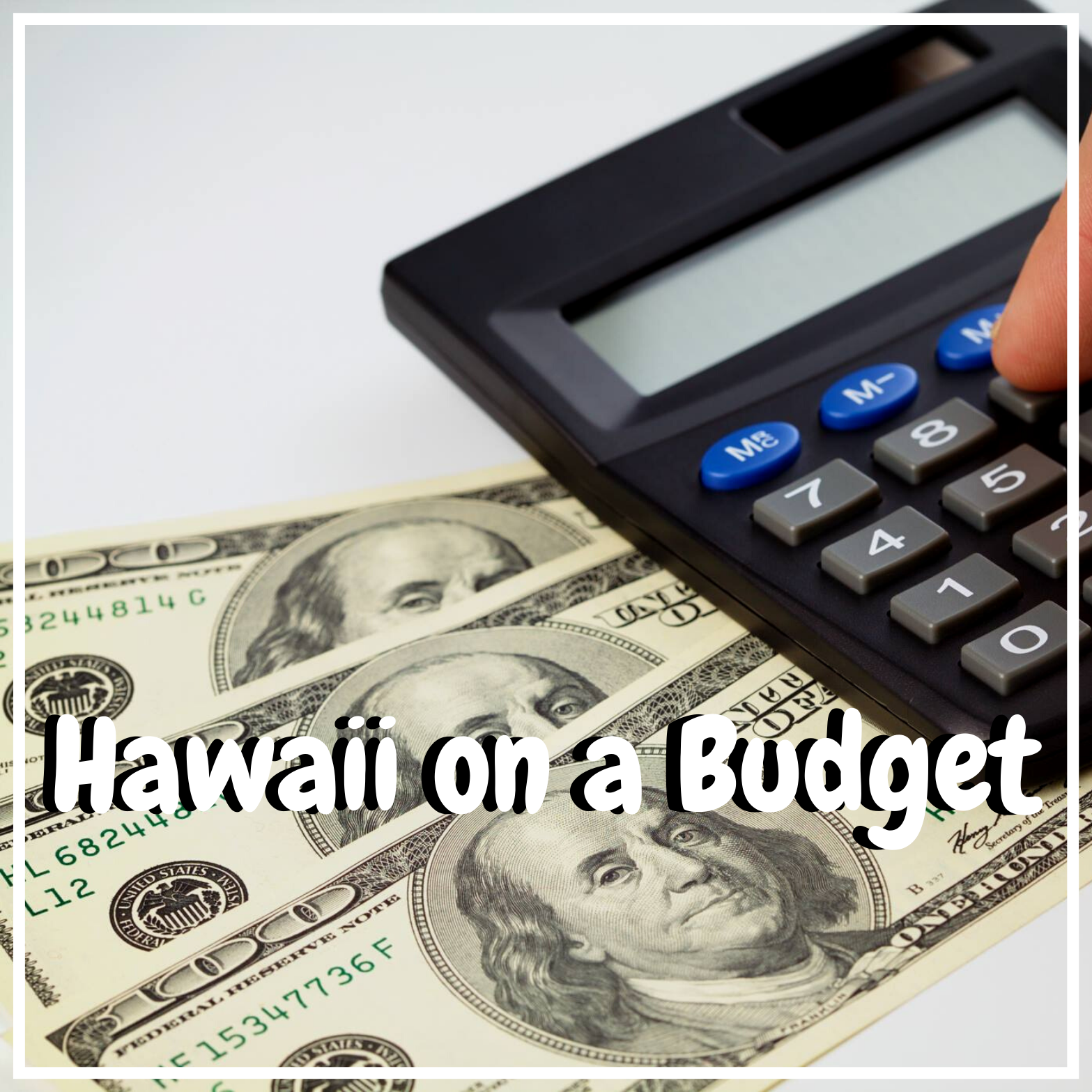 hawaii on a budget