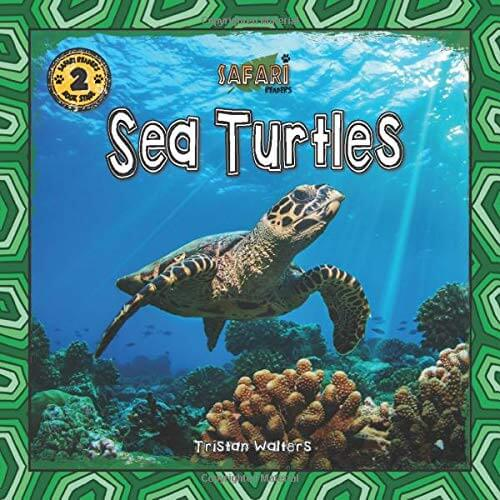 Learn new sea turtle facts for kids with this Safari Readers kids book about sea turtles.