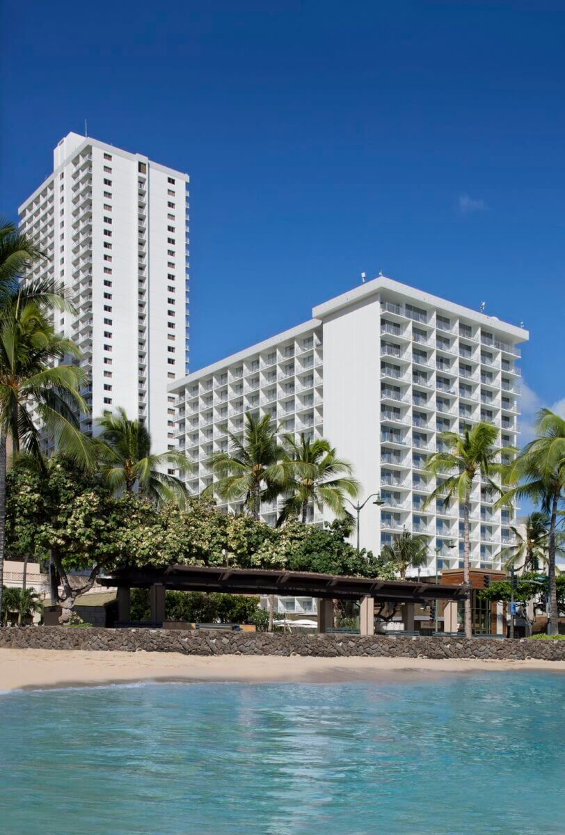Check out this honest review of the Alohilani Resort in Waikiki Beach. Image of the Alohilani Resort and Kuhio Beach