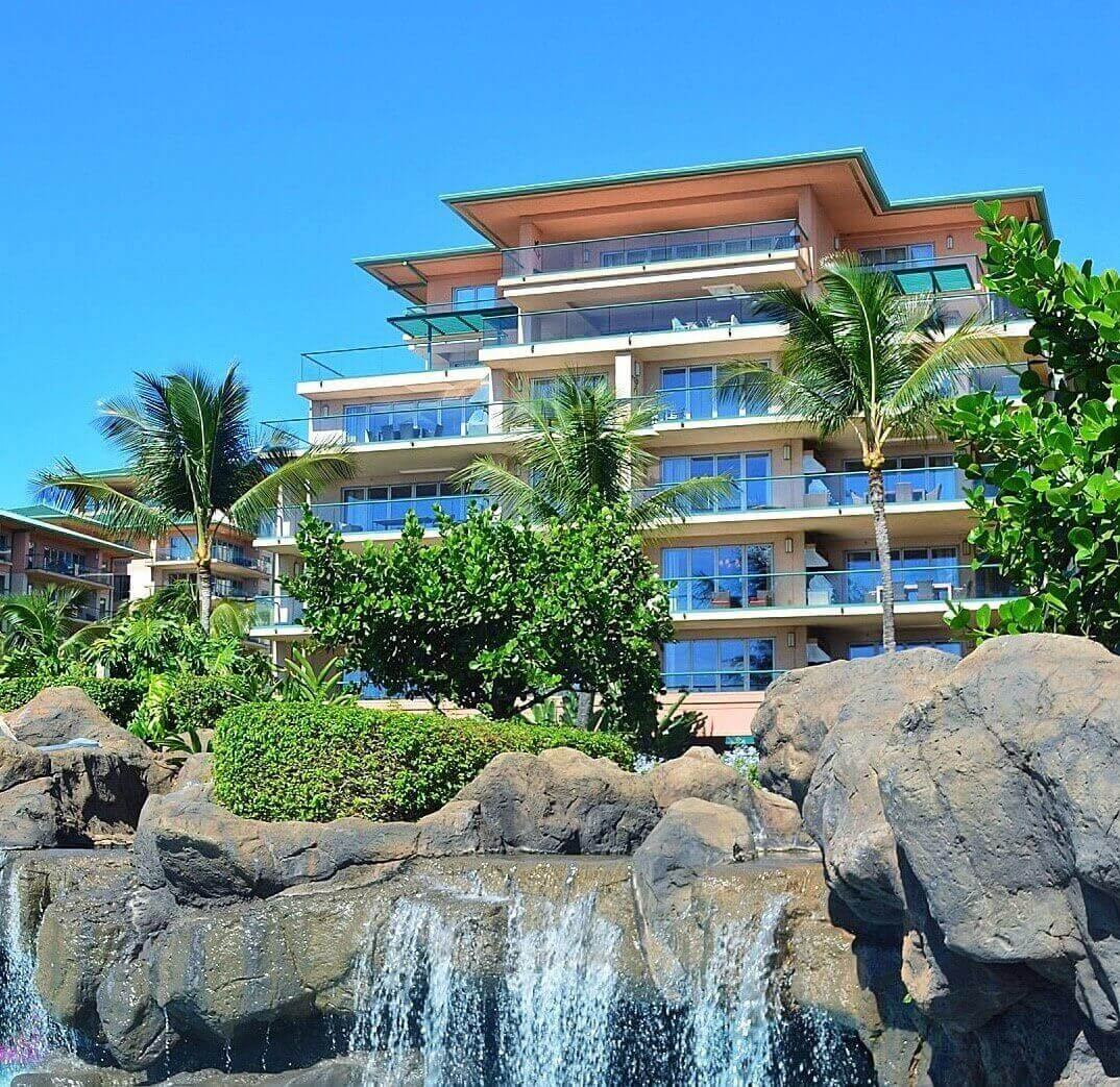 Check out this honest review of the Honua Kai Resort and Spa by top Hawaii blog Hawaii Travel with Kids. Image of the Honua Kai Resort on Maui