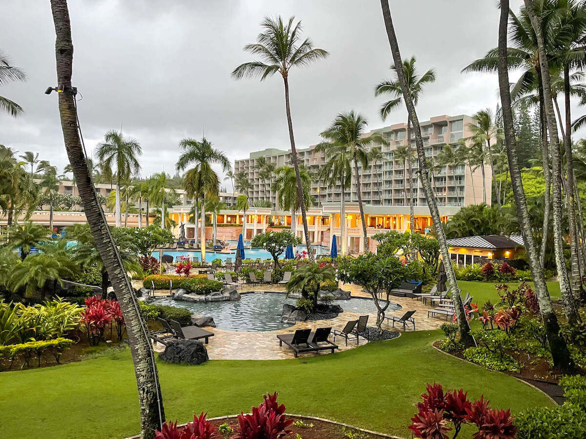 Find out whether or not the Royal Sonesta Kauai is the best place to stay on Kauai with kids in this review by top Hawaii blog Hawaii Travel with Kids. Image of the Royal Sonesta Kauai exterior