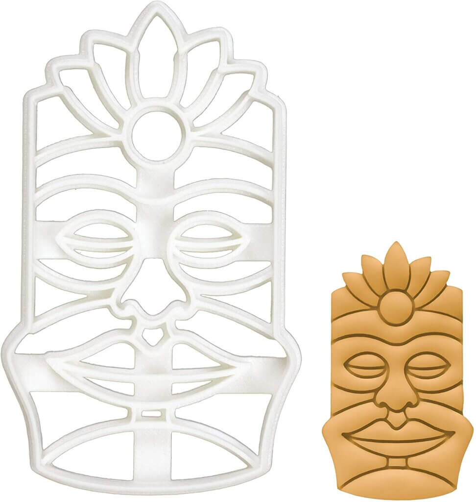 You'll love making these tiki cookies for your next summer party.